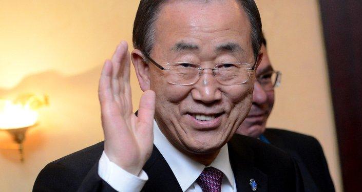 Генеральный секретарь Организации объединенных наций Пан Ги Мун. Архивное фото