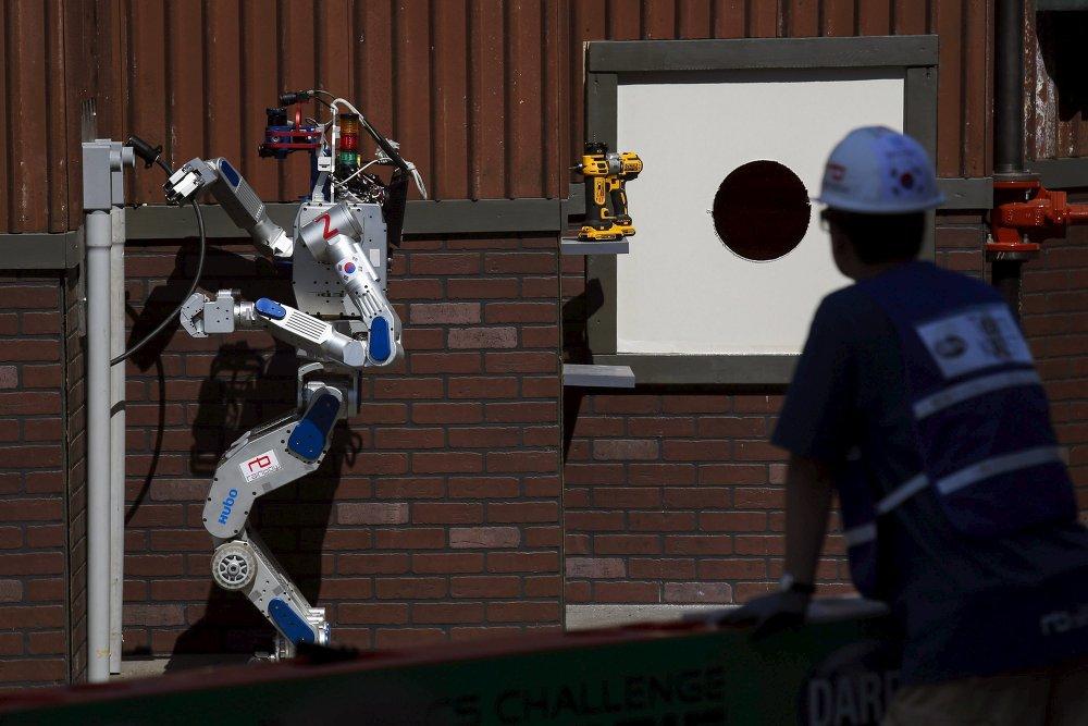 Робот из Южной Кореи выиграл приз Пентагона