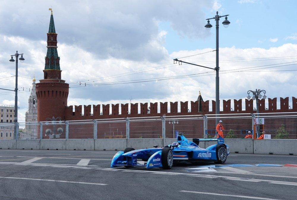 Автоспорт. Формула Е. Гран-при России