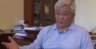 LIVE: Интервью с мэром Бишкека Кубанычбеком Кулматовым
