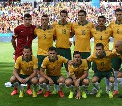 Сборная Австралии по футболу. Архивное фото