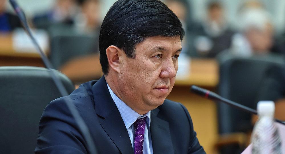 Министр экономики Кыргызской Республики Темир Сариев. Архивное фото
