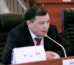 Депутат парламентской фракции Ата-Журт Дастан Джумабеков. Архивное фото