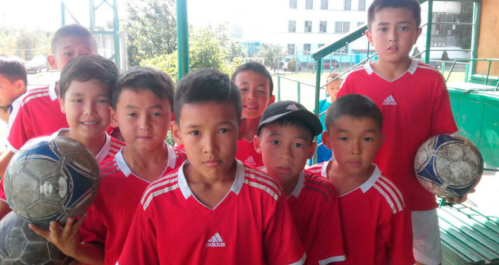 Победители в международном детском турнире в Казахстане.