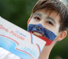 Празднование Дня России в регионах.