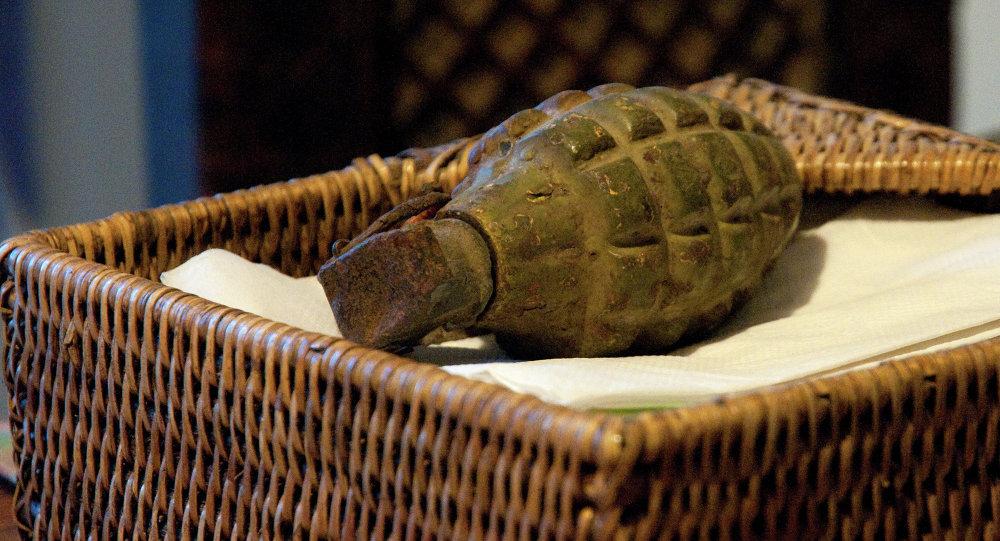 Боевая осколочная граната. Архивное фото