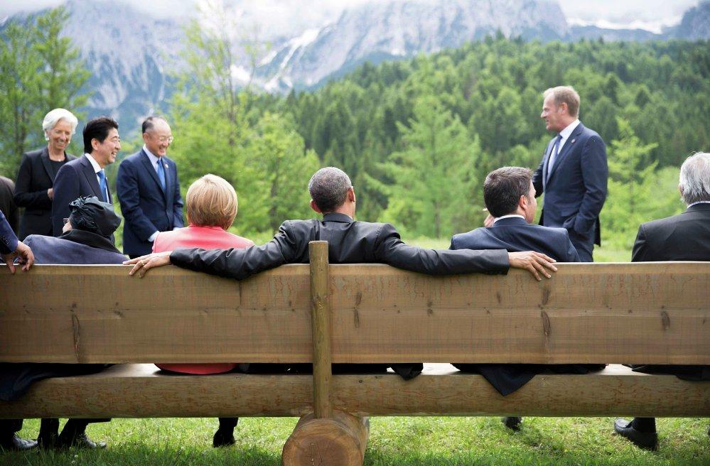 В Германии прошел саммит G7.
