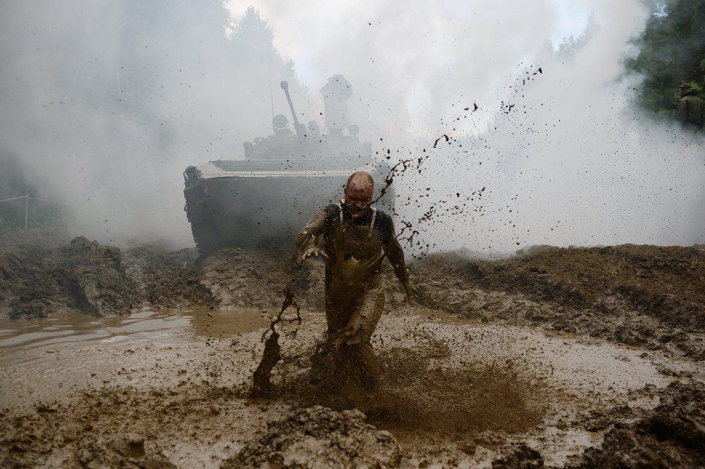 Гонка героев в Екатеринбурге.