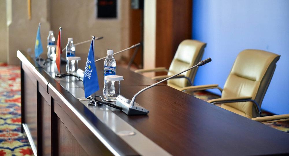 Зал для пресс-конференций. Архивное фото