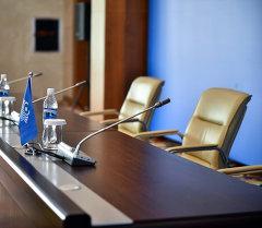 Пресс-конференция залы. Архив