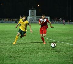 Футбольный матч между сборной Кыргызстана и Австралией. Архивное фото