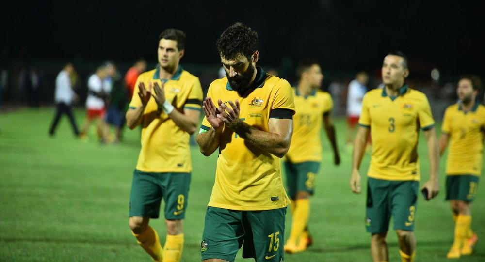 Футболисты сборной Австралии. Архивное
