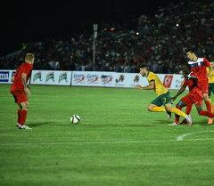 Футбольный матч между сборной Кыргызстана и Австралией