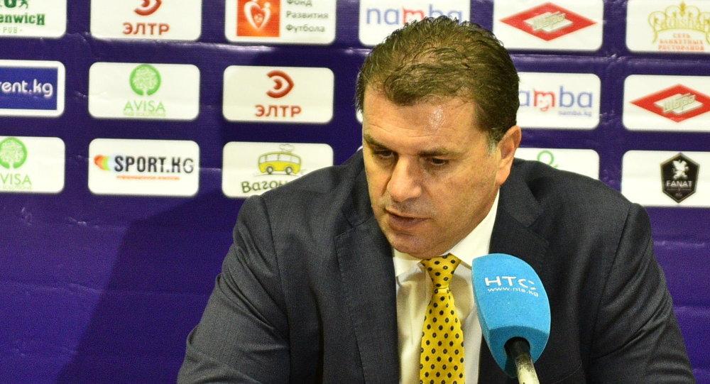 Главный тренер сборной Австралии Анге Постекоглу. Архивное фото