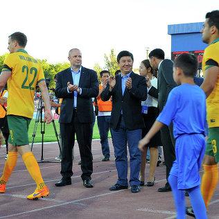 Премьер-министр Темир Сариев футбол боюнча Кыргызстандын курама командасынын оюнуна ыраазычылык билдирди.