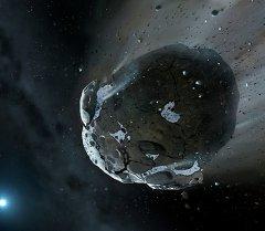 Рисунок астероида. Иллюстративное фото