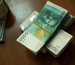 Крупная национальная валюта. Архивное фото