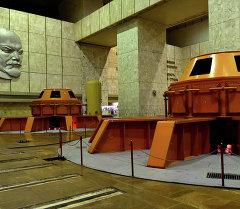Трансформатор в Токтогульской ГЭС. Архивное фото