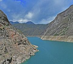 Река Нарын в Кыргызстане. Архивное фото