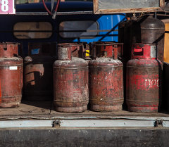 Газ баллону. Архив