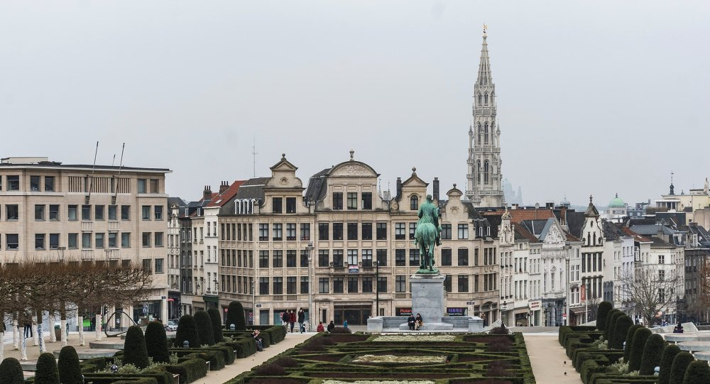 Вид на одну из улиц Брюсселя. Архивное фото