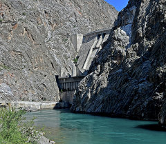 Токтогул ГЭС. Архив