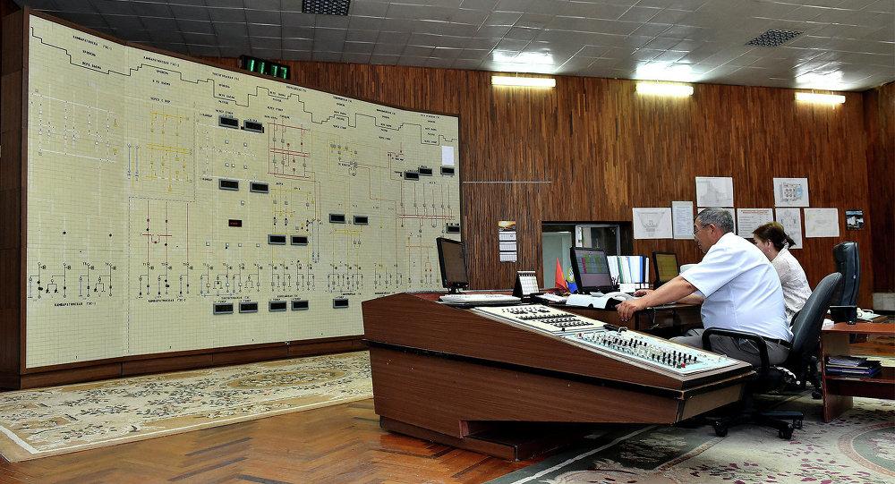 Станция управления Токтогульской ГЭС. Архивное фото