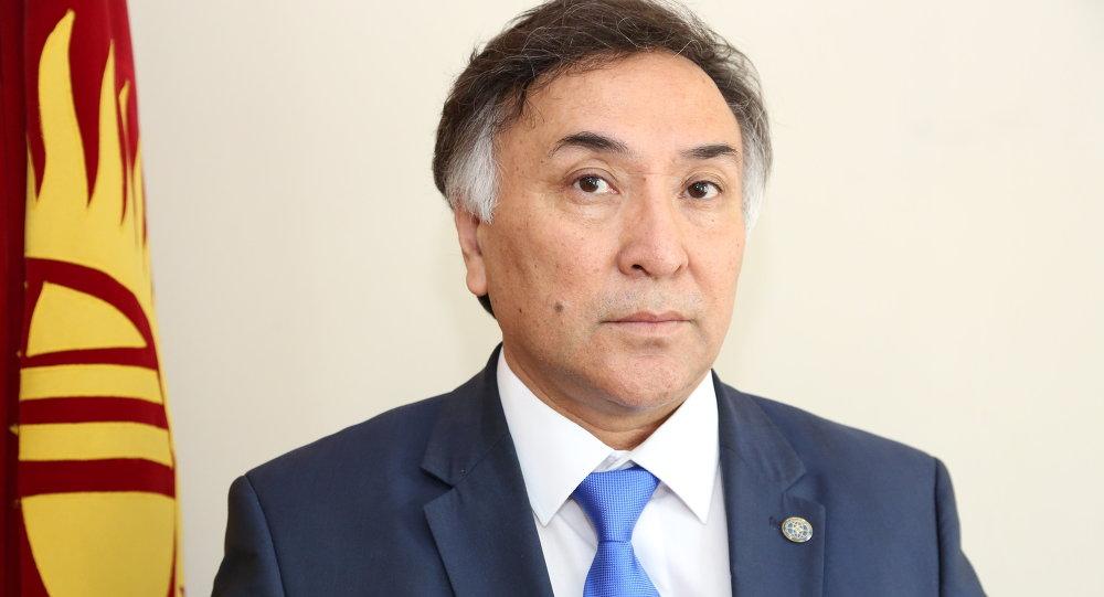 Эринес Оторбаев посол Кыргызстана в Германии. Архивное фото