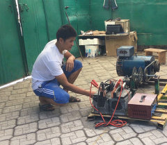 Вечный двигатель. Студент хочет свести на нет законы физики