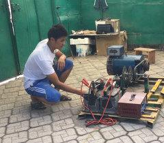 Түбөлүк кыймылдаткыч жасоого боло турганын кыргызстандык студент далил
