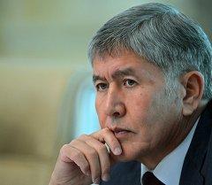 Президен КР Алмазбек Атамбаев. Архивное фото