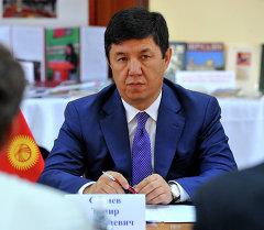 Премьер-министр КР Темир Сариев. Архив
