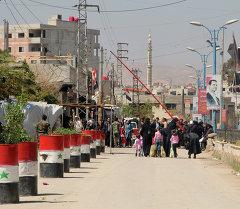 Сириянын жашоочулары. Архив