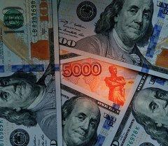 Рубль жана доллар. Архив
