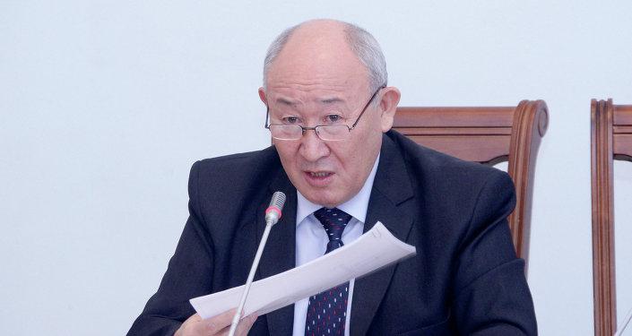 Бывший глава госфиннадзора Оруслан Тойчубеков. Архивное фото