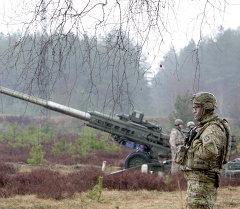 Военнослужащие блока НАТО. Архивное фото