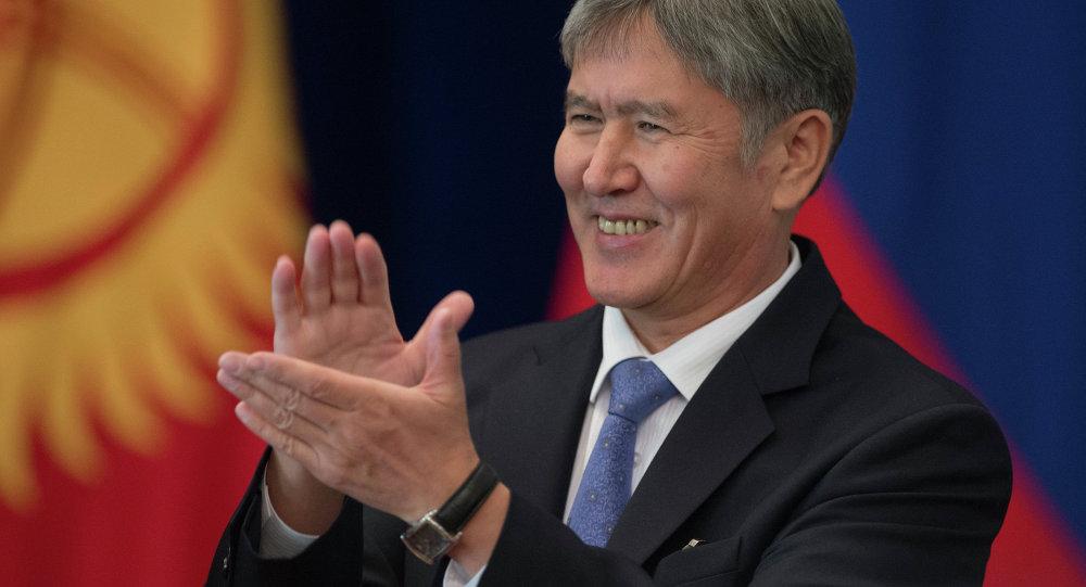 Prezident Administrasiyası: 'Qırğız prezidenti oteldə öz hesabına qalır'