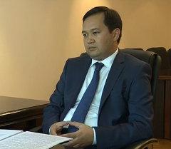 Интервью с главой Минтруда Айбеком Азыранкуловым