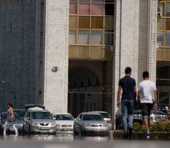 Жаркая погода в городе Бишкек. Архивное фото