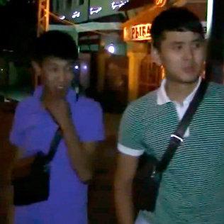 Снимок экрана из видео Очень срочно! ДПС г.Бишкек. Вымогательство, беспредел, погоня. Архивное фото