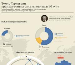 Темир Сариевдин премьер-министрлик кызматтагы 60 күнү