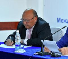 Бывший директор государственной службы по контролю наркотиков Алымбай Султанов. Архивное фото