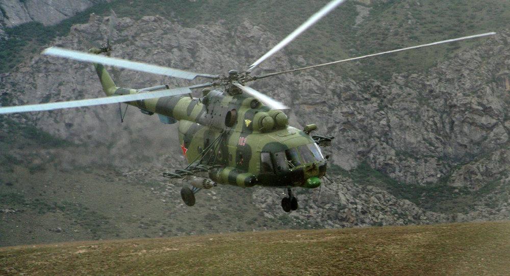 Вертолет Ми-8 МТВ. Архивное фото