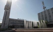 Здание открытого акционерного общества «Кыргызтелеком». Архивное фото
