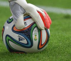 Вратарь с мячом. Архивное фото