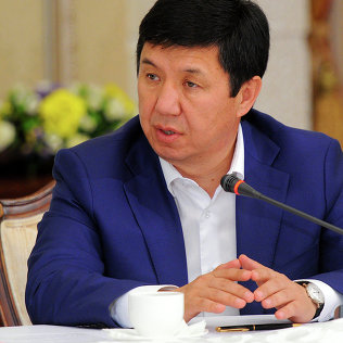 Премьер-министр Темир Сариев на встрече с руководителями СМИ