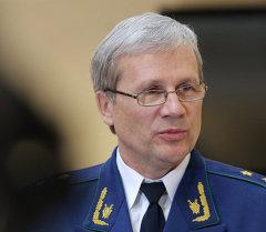 Прокурор Свердловской области Сергей Охлопков. Архивное фото