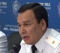 Пресс-конференция с участием заместителя начальника МВД и начальников ГУВД столицы и Чуйской области, а также заместителя начальника ДПС проходит в Бишкеке.