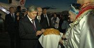 Атамбаев Уфага ШКУнун саммитине катышуу үчүн учуп келди