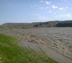 Баткен районундагы Төрт-Гүл айыл аймагында 9-июлда Сох дарыясындагы суусун деңгээли көтөрүлдү.